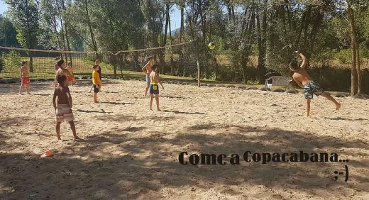 English Sports Camp beach volley