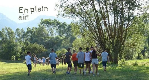 English Sports Camp passeggiata all'aperto