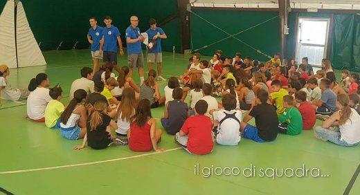 English Sports Camp gioco di squadra